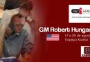 GM Hungaski no Espaço Xadrez Total em 2017 !
