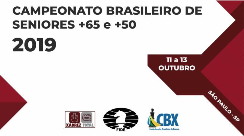 Campeonato Brasileiro de Seniores +65 e +50 2019
